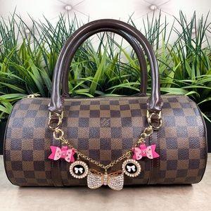 Authentic Louis Vuitton Damier Papillon Satchel